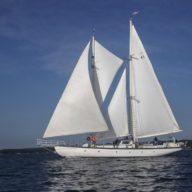 Photos of the schooner Utopia