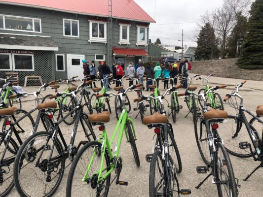 Bikes for trail program