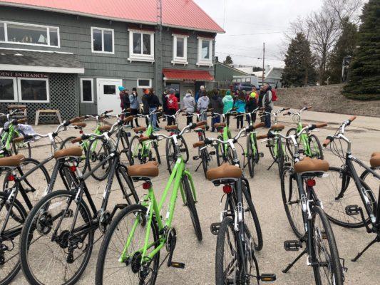 Bikes for trail program